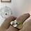 Thumbnail: Anel Sole com diamante + Anel Pétalas mini + Anel Dia