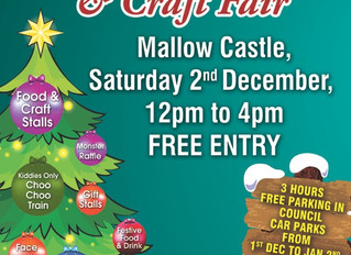 Mallow Christmas Family Food and Craft fair
