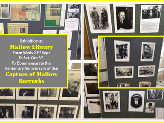 Exhibition at Mallow Library - The Capture of Mallow Barracks and the Reprisals that followed