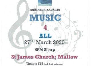CanTalk Mallow - Concert Fundraiser