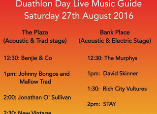 Mallow Duathlon, Family Fun Day & Free Live Entertainment on the Streets of Mallow this Weekend!