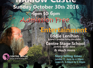 Spooktacular Events at Mallow Castle, Sunday October 30th from 4.00pm