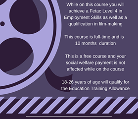 North Cork Film-Making Course & Employment Project Mallow
