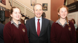 03_Davis_College_Students_with_the_Leader_of_Fianna_Fail_Party_Michéal_Martin_TD