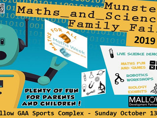 Date set for 2019 Munster Maths & Science Family Fair