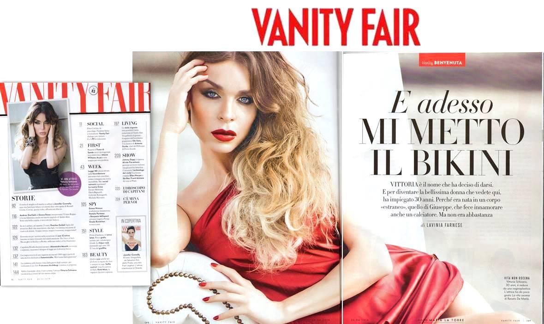 Vanity Fair Vittoria Schisano