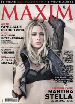 Cover del mese Martina Stella