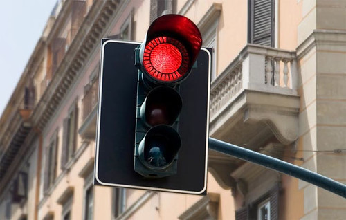 Improved traffic light   haha.nu