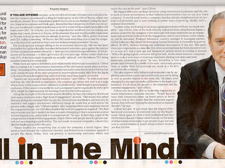 Mind game in the boardroom