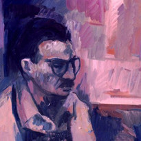George Wexler Self-Portrait 12x16 1967