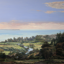 Pacific from Anahola 29x46 1992