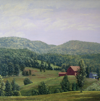 From Mohonk Road #5 16 x 20 1982