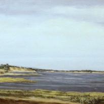 1984 Inlet Near Wellfleet #1 6x16 1984