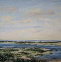 Wellfleet Inlet #2 10x14 1985