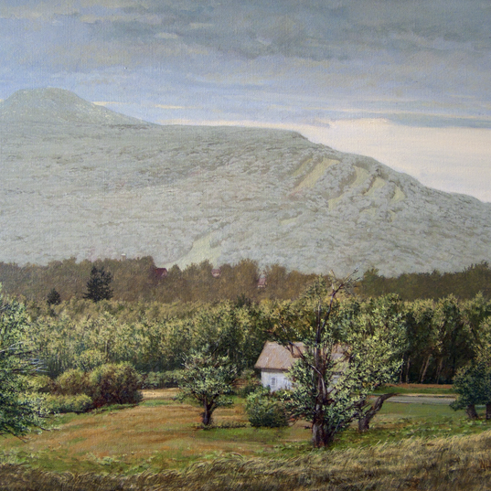 Grey Day Near Tannersville 14x18 1980