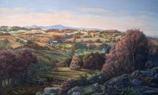 Autumn Landscape #1 25x40 1993