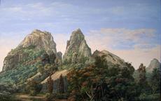 Anahola Mountain 29x46 1990