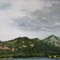 Echo Lake, N.H. #1 10x14 1977