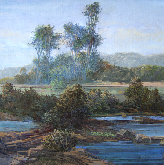 The Wallkill River 14x18 2001