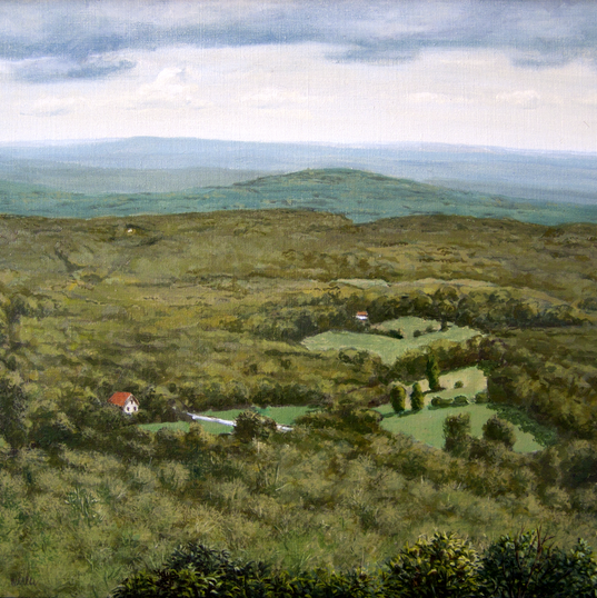 Near North Lake 12x16 1977