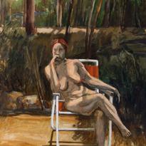 Sunbather Karen 22x30 1970