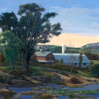 Al Hess's Farm #1 29x41 1996