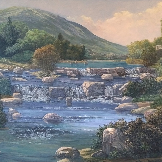 The Wallkill Near Tuttle Town 1992 38x54