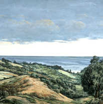 Pacific Farmland 15x21 1989