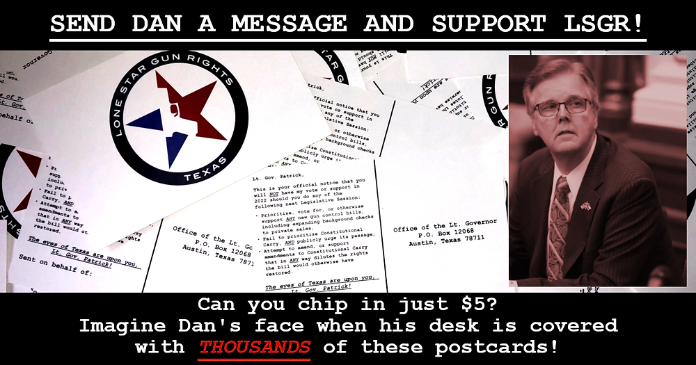 Click here to send Dan Patrick a postcard!