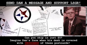 Click here to send Dan Patrick a postcard!