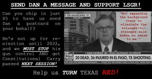 Help uiis TURN TEXAS RED by sending Dan Patrick a message!