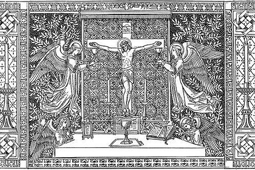 Lent-Print, Latin (digital download)