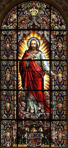 Sacred Heart of Jesus | Catholic handwritin worksheets by liturgical season