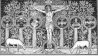Crucifixion (pinterest, Janet Whalen sav