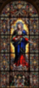 Immaculate Heart of Mary | Catholic handwriting worsheets by liturgical season