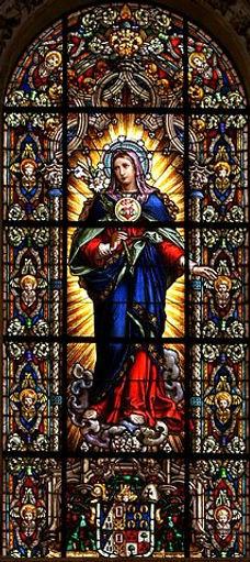 Immaculate Heart of Mary   Catholic handwriting worsheets by liturgical season