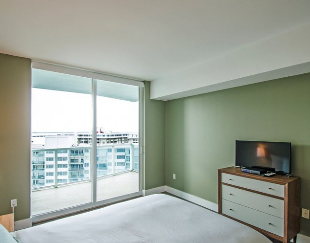 Penthouse Guest Bedroom Remodel with Ocean View 4