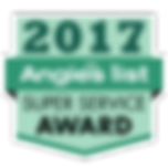 Angie's List 2017 Super Service Award Logo
