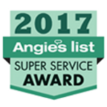 Angie's List 2017 Super Service Award Logo