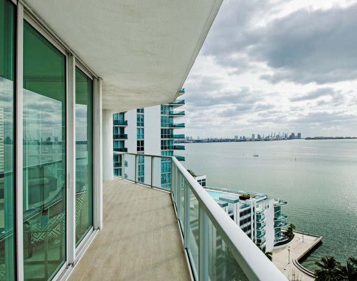 Brickell Penthouse Wrap-Around Balcony with an Ocean View