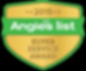 Angie's List 2015 Super Service Award Logo