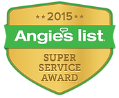Angie's List 2015 Super Service Award Logo