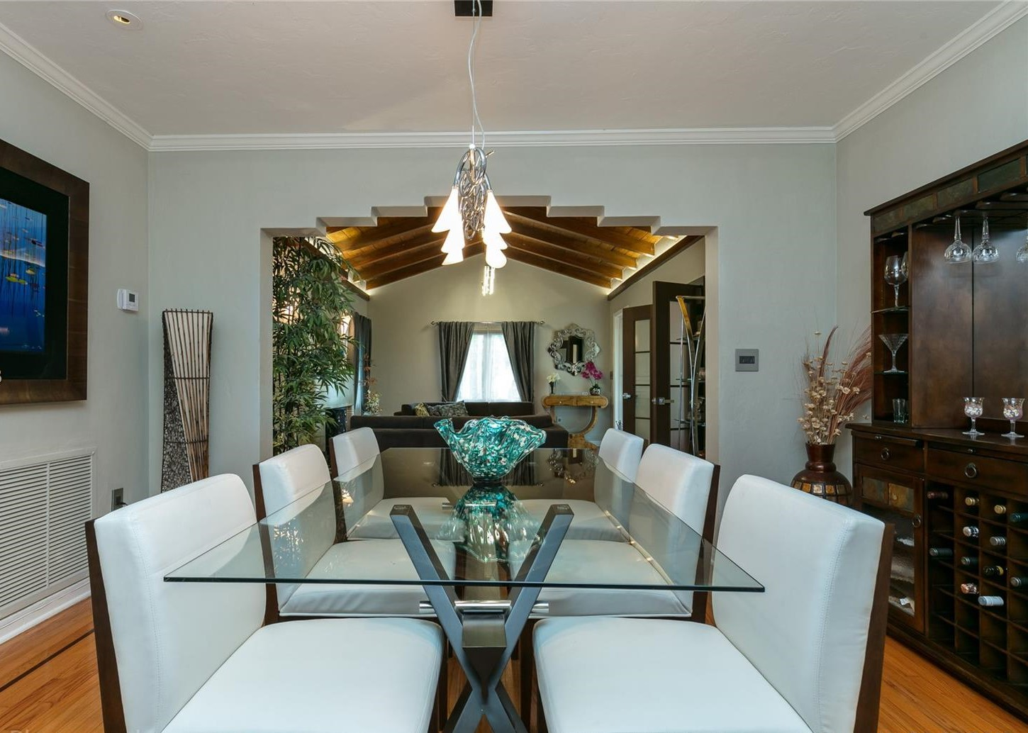 Elegantly-Designed Dining Room