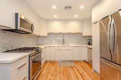 Italian-Finish White Kitchen Remodel