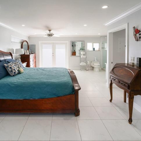 Open-Concept Master Bedroom Suite Remodel