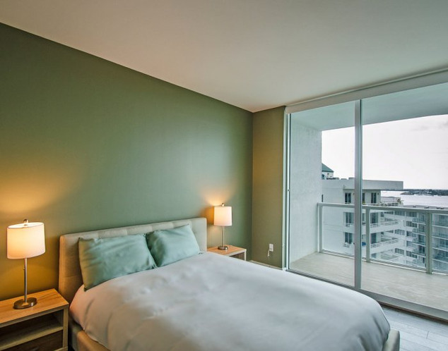 Penthouse Guest Bedroom Remodel with Ocean View 3