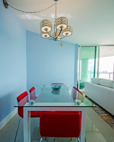 Open-Layout, Brickell Penthouse Remodel with Ocean View 2