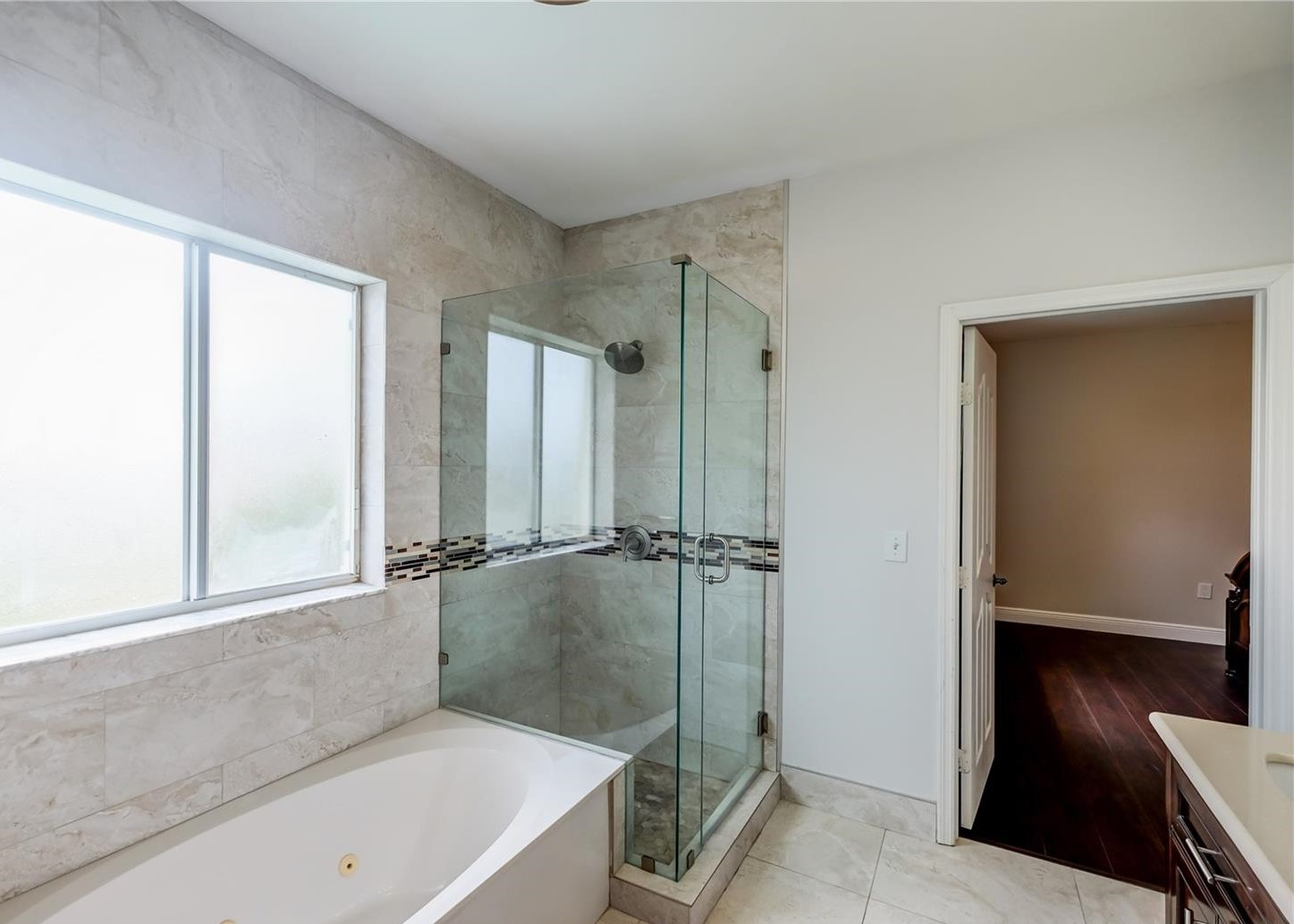 Custom-Built Master Bathroom Remodel