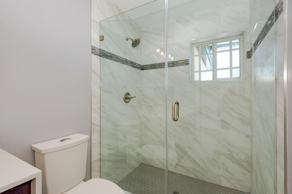 Transitional Master Bathroom Remodel