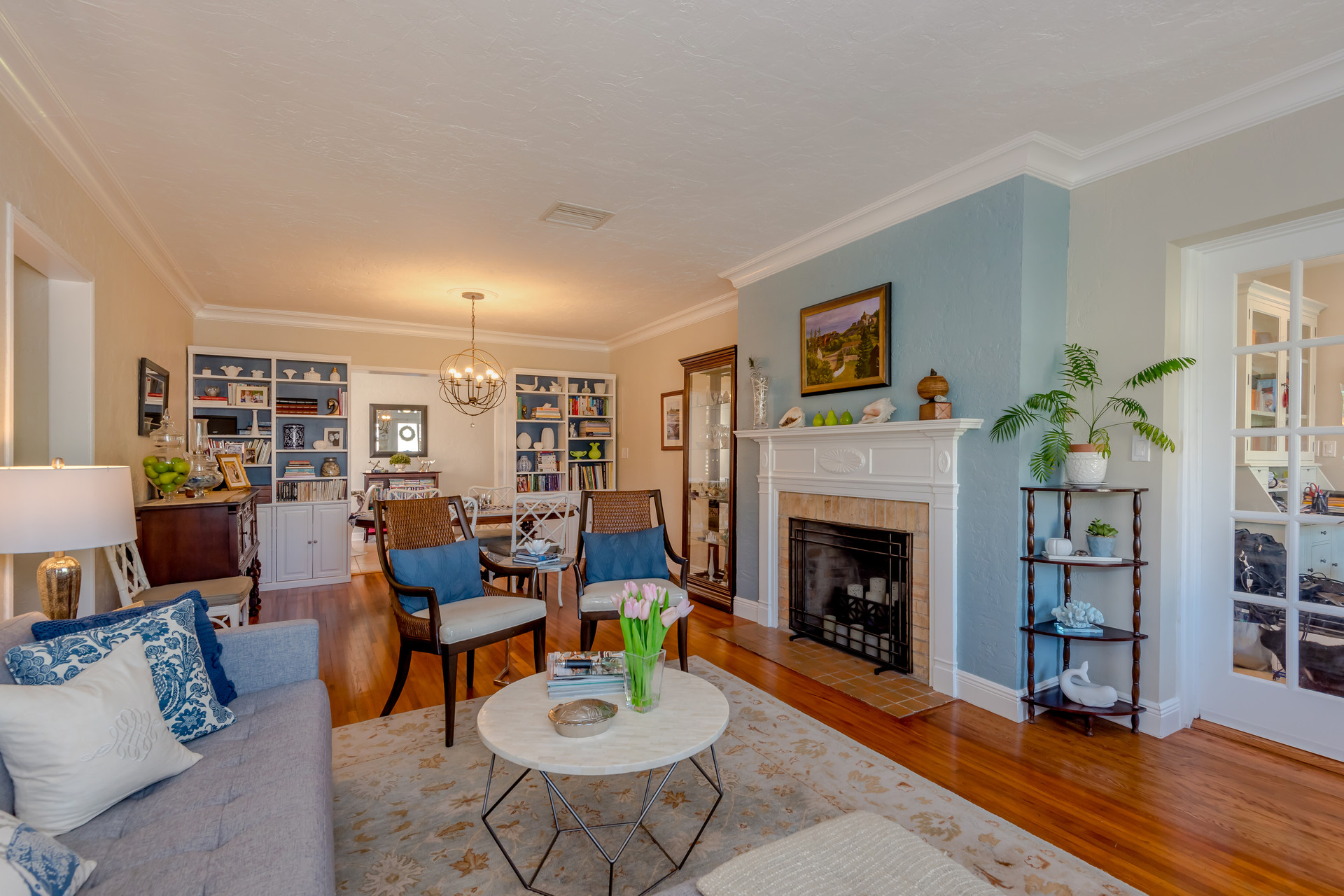 Open-layout, Living & Dining Room Remodel 2